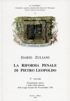 La riforma penale di Pietro Leopoldo